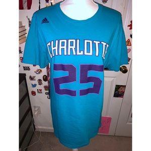 Al Jefferson Hornets Short Sleeve